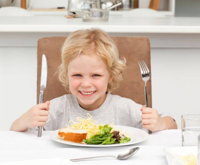 regular eating habits for children