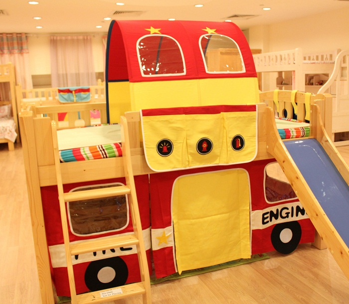 Fire Engine children bed decoration