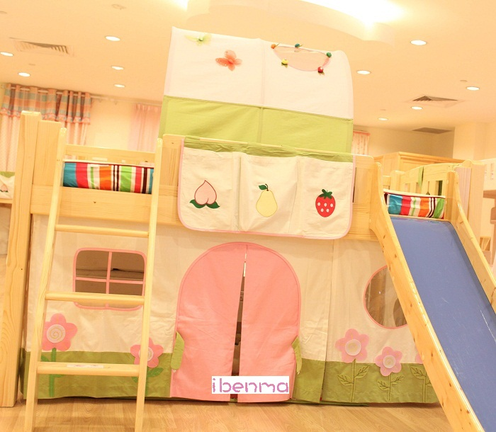 Garden Theme for Children Bed Decoration