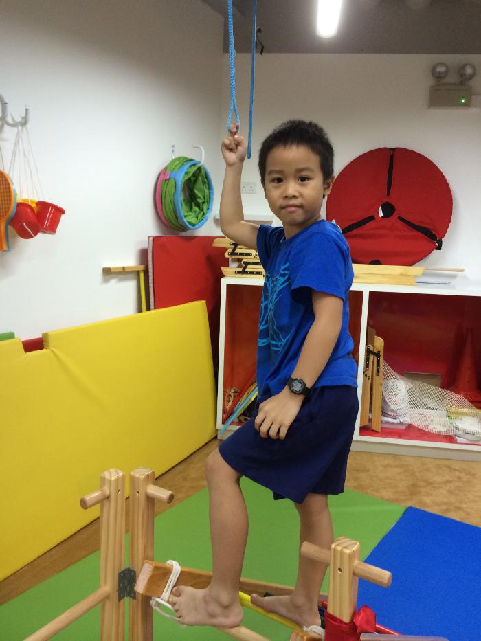KindyROO Singapore Ai ling's son