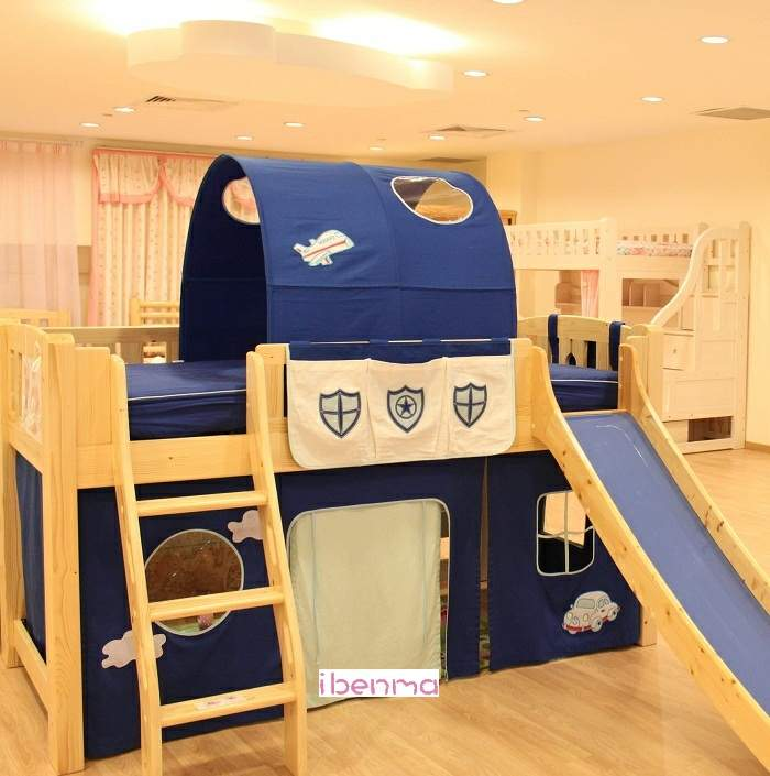 Police theme Children Bed Decoration