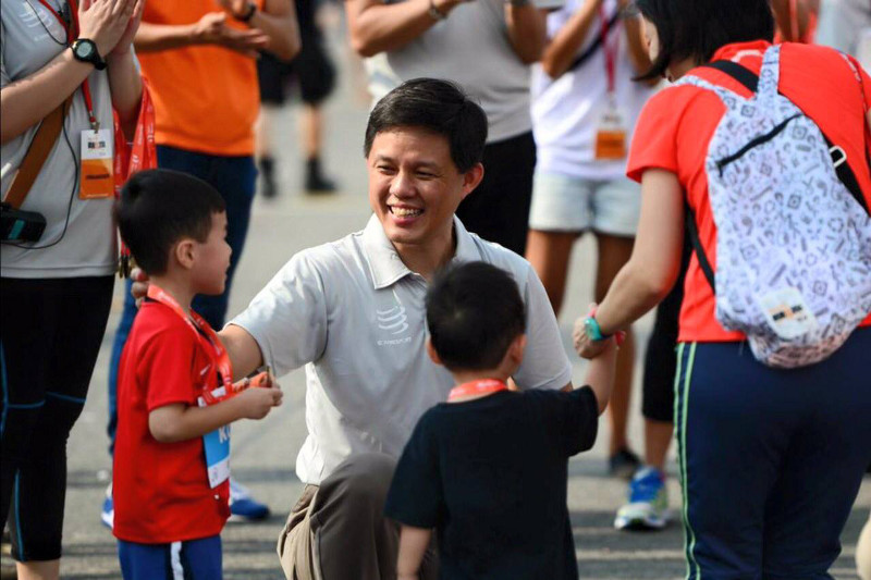 Cabinent reshuffle Minister Chan Chun Sing