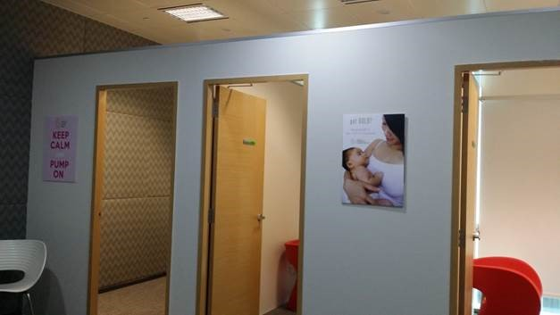 nursing room at workplace