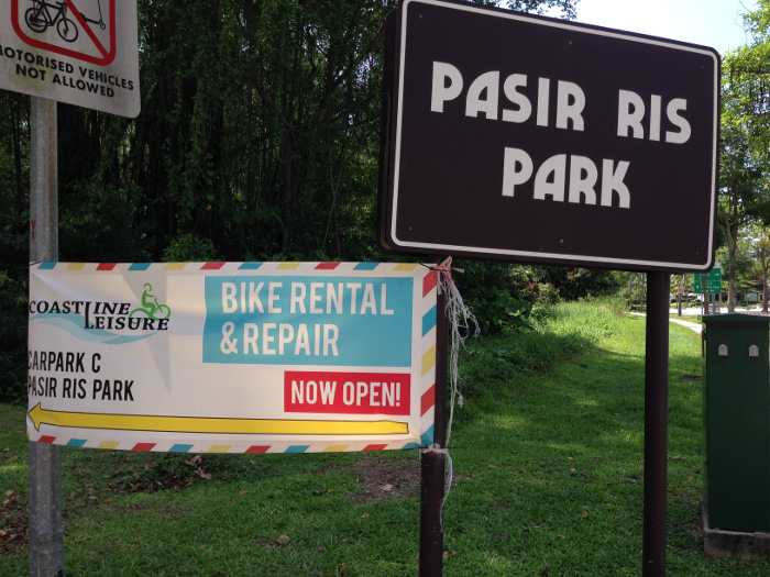 Bicycle Rental at Pasir Ris Park