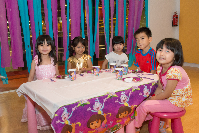 Dora the explorer themed party