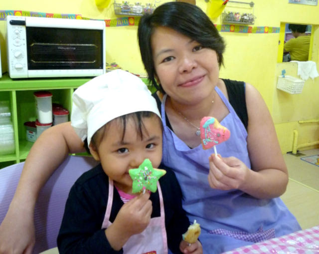 baking classes for children and parents