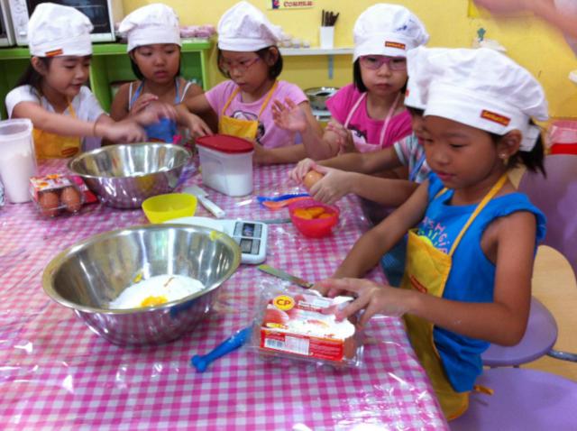 baking workshops for children