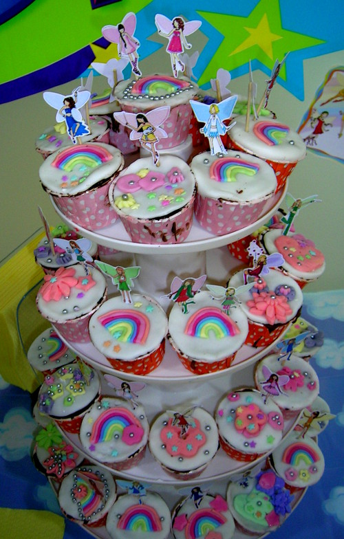 cupcake birthday cakes for kids fairy theme
