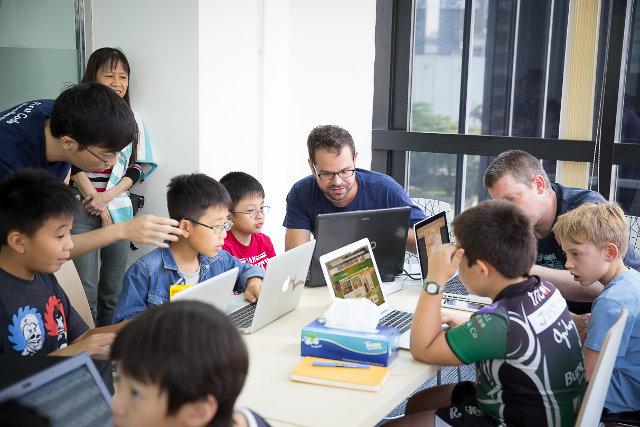 teaching children how to code