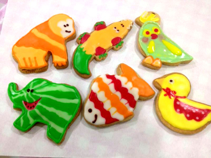 zoo safari cookies
