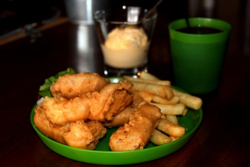 Fish Chips Saturday House