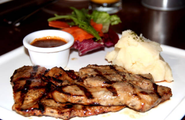 Grilled Pork Collar Saturday House