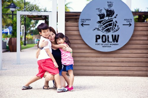 holiday activities at Sentosa