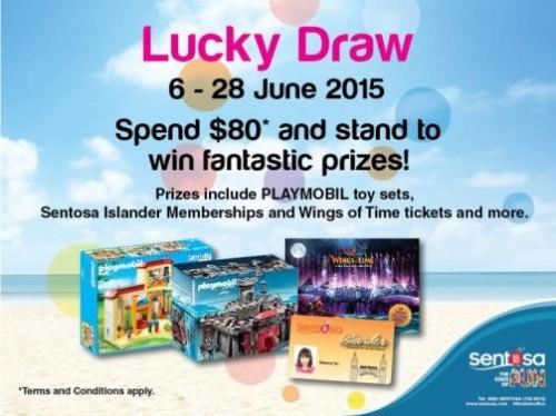 Win a prize at Sentosa