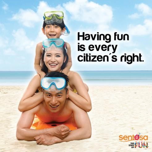 Family Fun at Sentosa