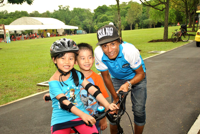 Bicycle lessons for kids