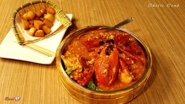 Bestt Chilli Crab in Singapore