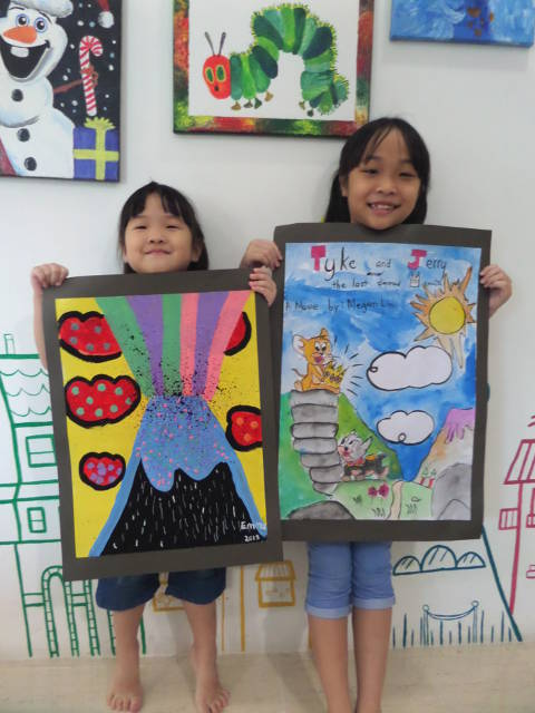 Heart Studio Art classes for kids