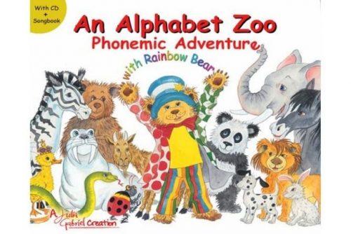 Julia Gabriel education books An Alphabet Zoo Phonemic Adventure with Rainbow Bear