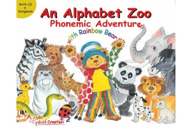 Julia Gabriel education books An Alphabet Zoo Phonemic Adventure with Rainbow Bear