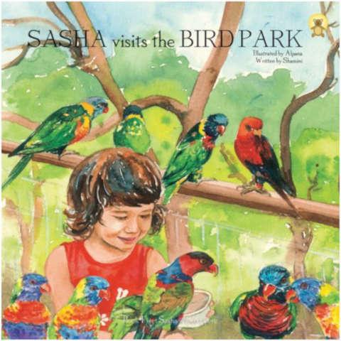 Sasha series singapore books for children