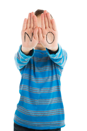 Teach Your Child How To Say No
