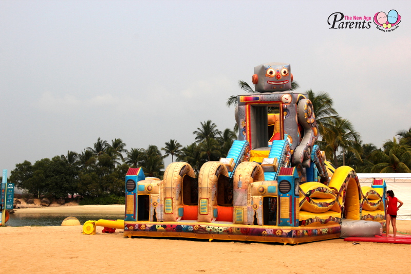 Sentosa Fun Fest inflatable playgrounds