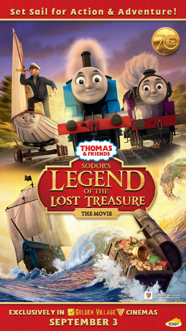 Thomas and Friends Sodor's Legend of the Lost Treasure movie