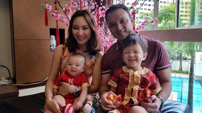 Charlene Low + Family