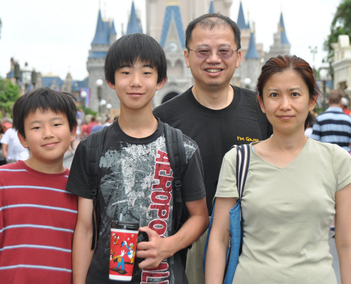 June Ho and Family