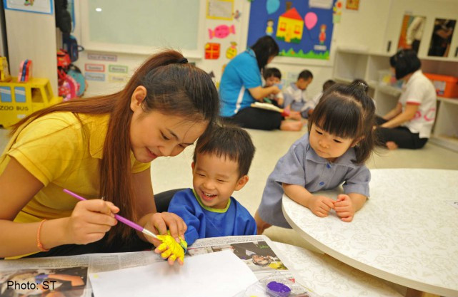 more childcare centres in singapore by 2016