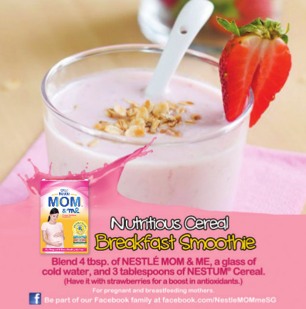 smoothie recipe nestle nan mom and me