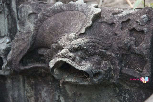 Bukit Brown Cemetery Lion-head