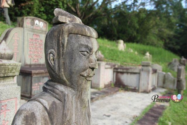 Bukit Brown Cemetery Terracotta Guards