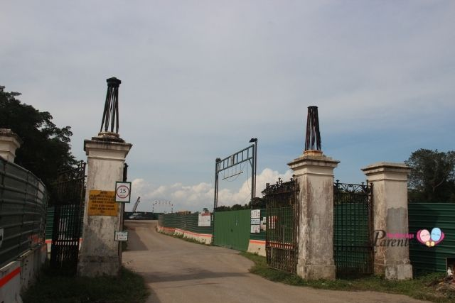 Entrance to Bukit Brown - Cemetery Gates