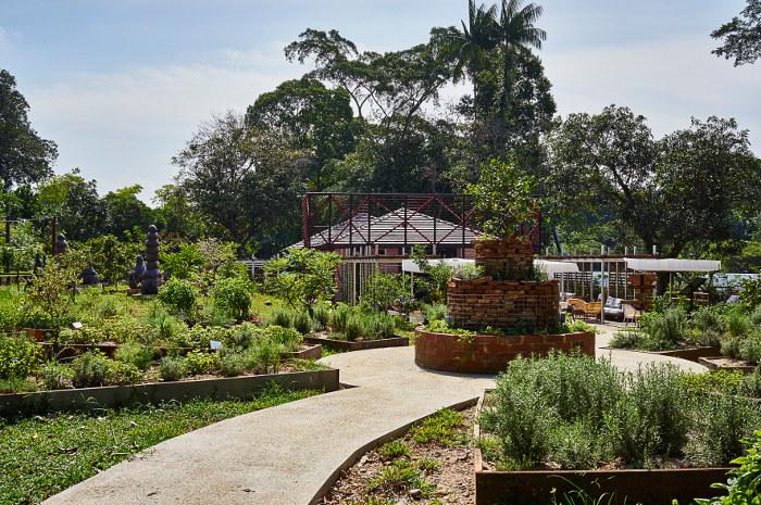 OFC Mandala Herb Garden