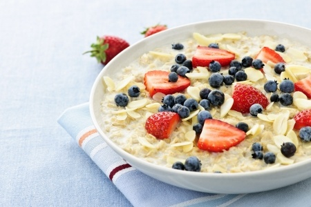 healthy oats breakfast