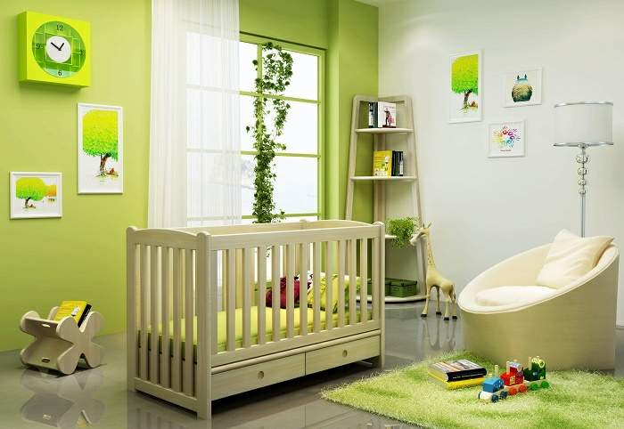iBenma Baby Cot