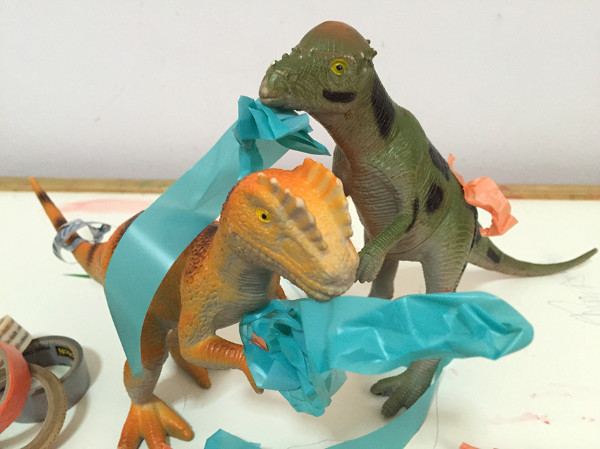Dinovember when Dinosaurs come alive!