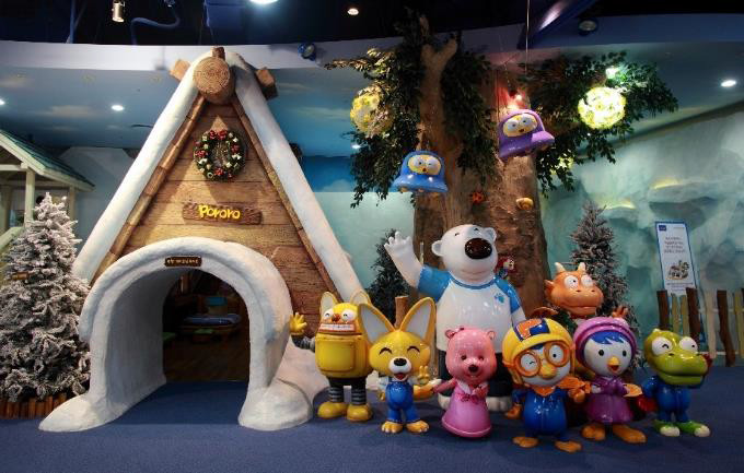 First South East Asia Pororo Park in Singapore