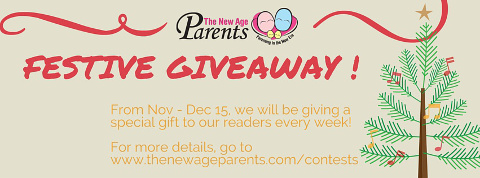 The New Age Parents Festive Giveaway 2015