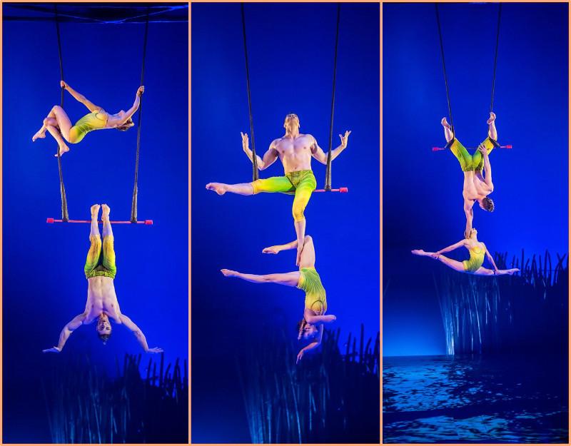 acrobatic performance in Singapore