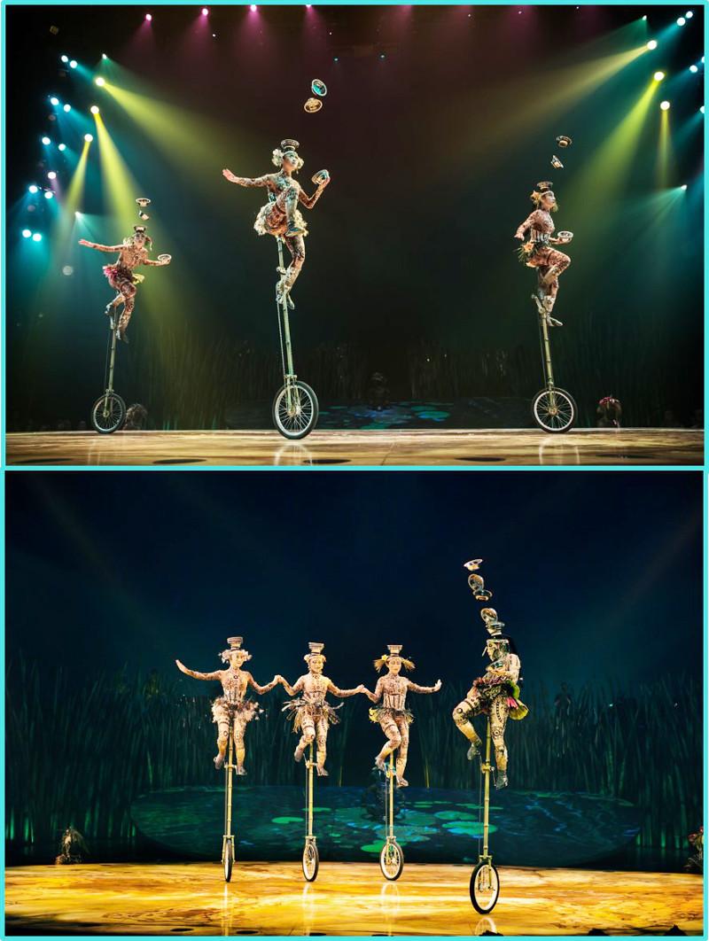 Acrobatic Circus performance