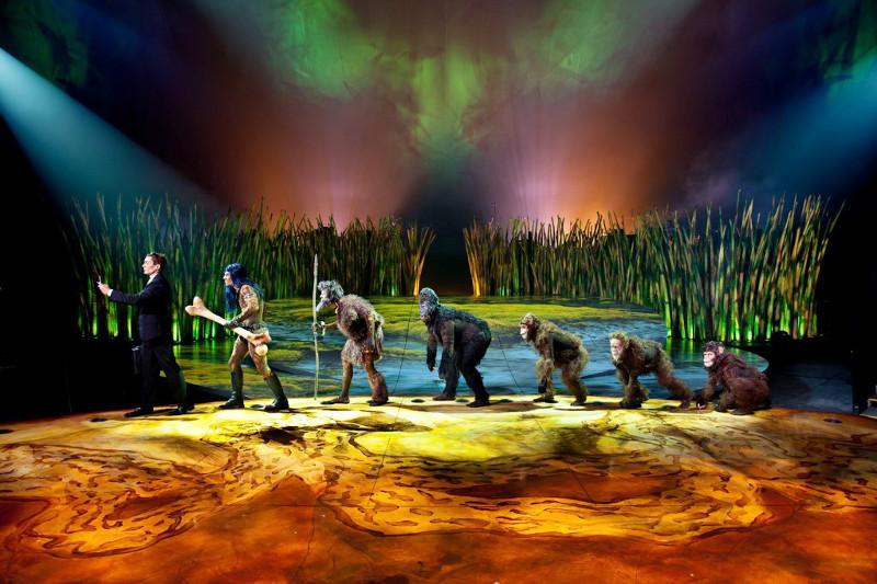 totem cirque du soleil in Singapore