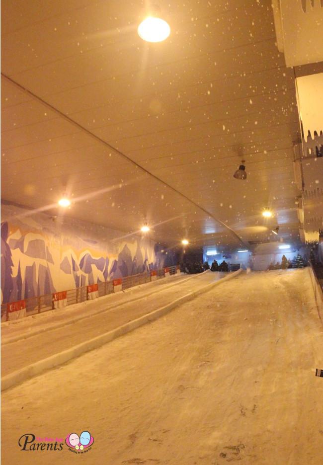 tubing at Snow City