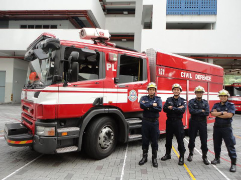fire station open house march holiday activities