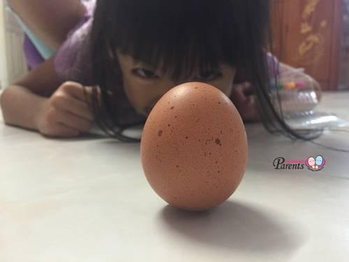 li chun egg can stand
