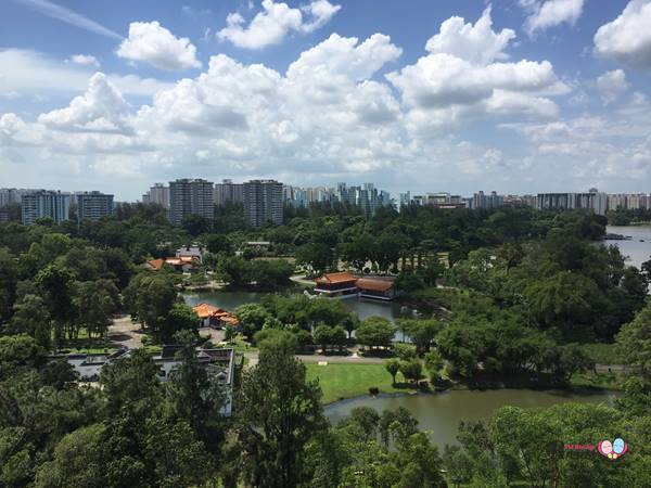 view of jurong lake park singapore