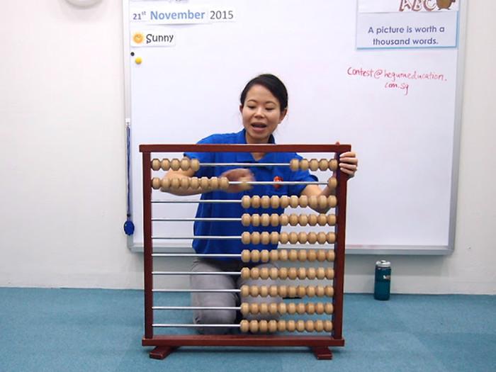 Heguru Classes abacus time