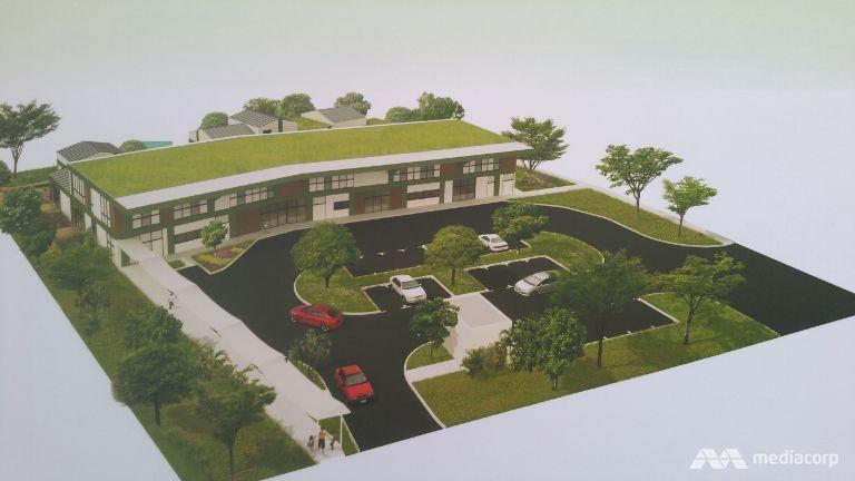 Layout of Mega Childcare Centre in Sengkang